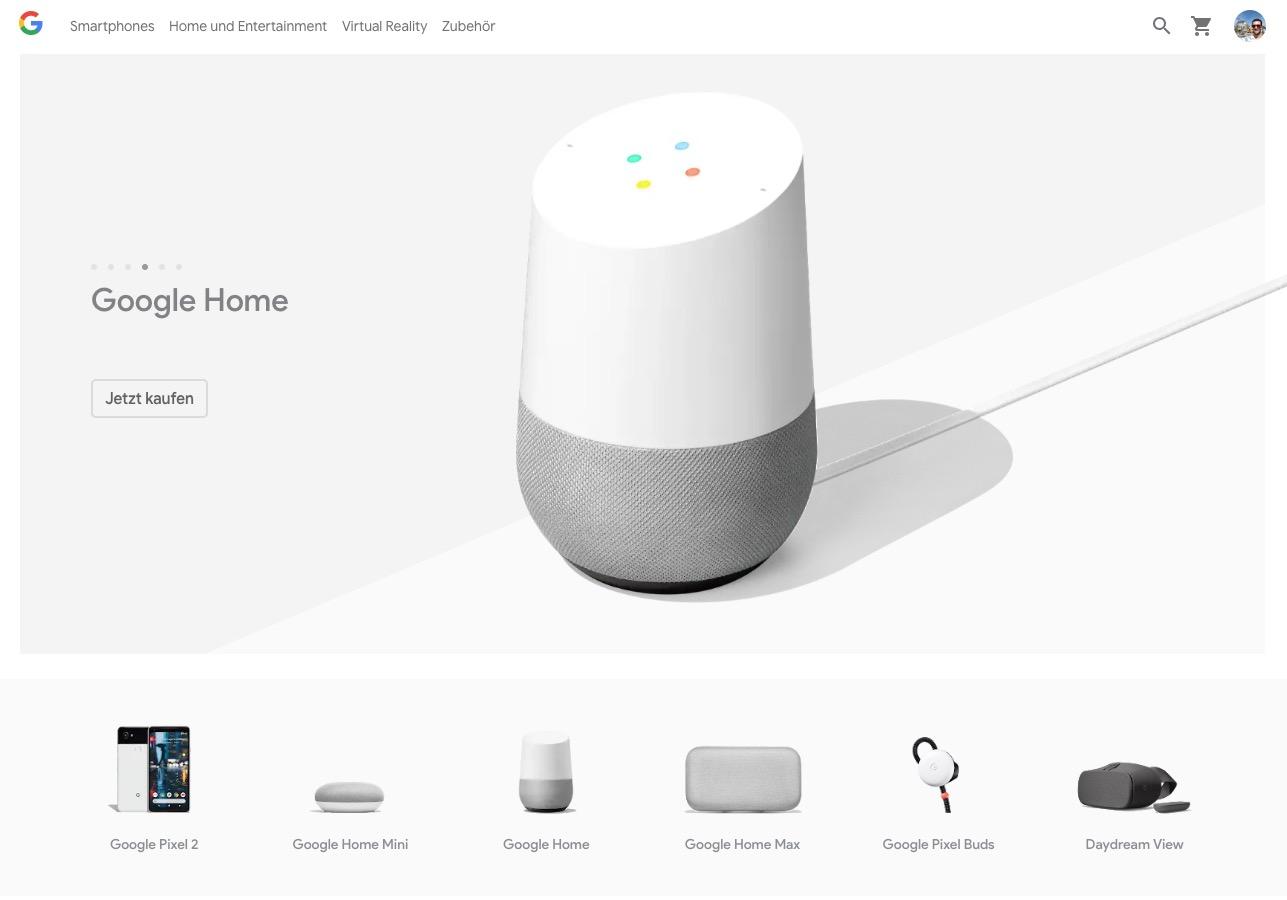 google home max steht in deutschland in den startl chern. Black Bedroom Furniture Sets. Home Design Ideas