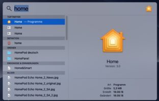 HomeKit am Mac 01