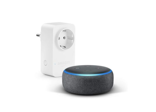 (-26.11.2018) Cyber Monday Woche – Echo Dot 3. Generation + Echo Smart Plug für 39,98€