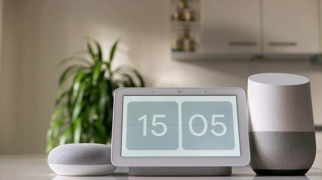 Google Home – Smart Displays per Button anrufen