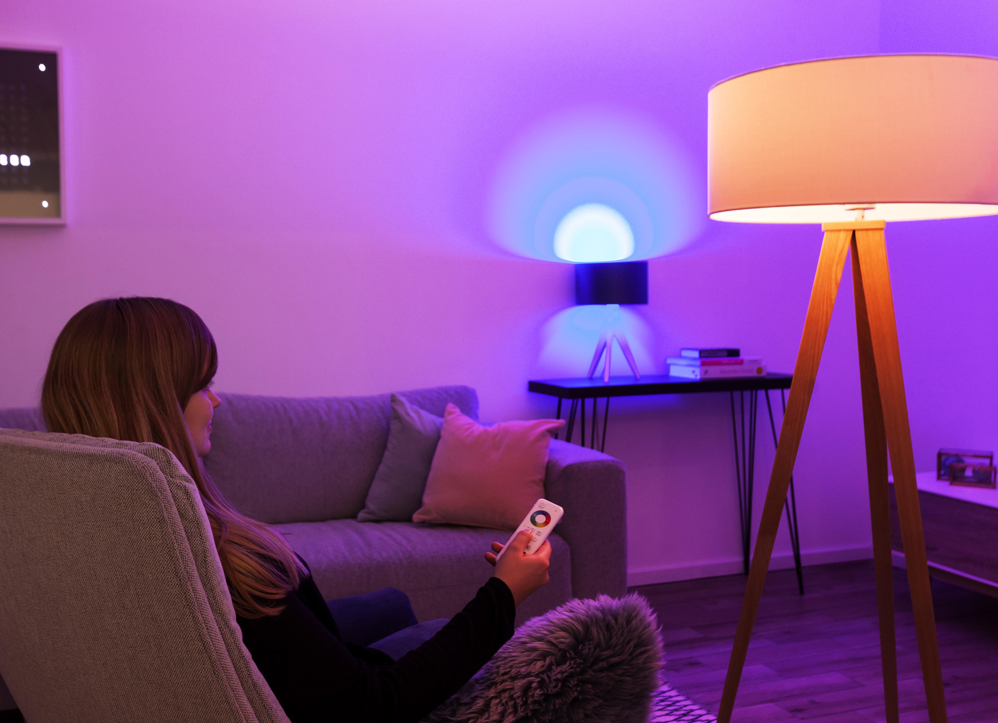 smartes licht bei aldi smarthomeassistent. Black Bedroom Furniture Sets. Home Design Ideas