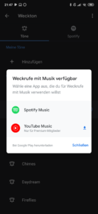 YouTube Music nun im Google Wecker verfügbar
