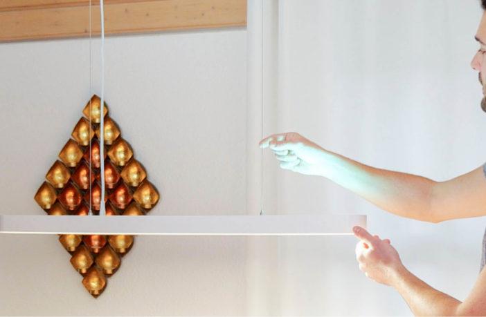 Xiaomi Yeelight Meteorite Crystal Deckenlampe