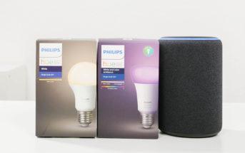 Philips Hue White & Color Lampe mit Echo Plus verbinden