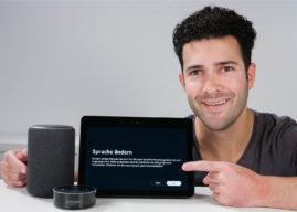 🎥 Amazon Echo & Alexa – die Sprache ändern – so geht's!