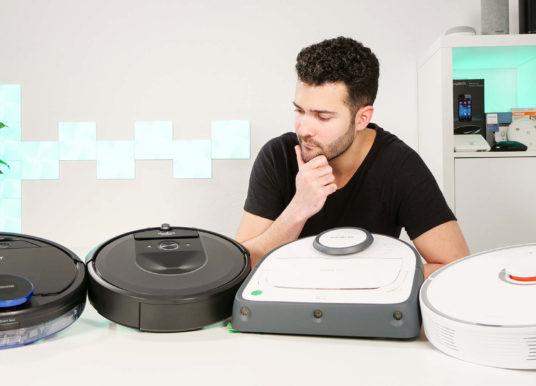 🎥 Roomba i7+ vs. Kobold VR300 vs. roborock S50 vs. OZMO 930 – Saugleistungsvergleich