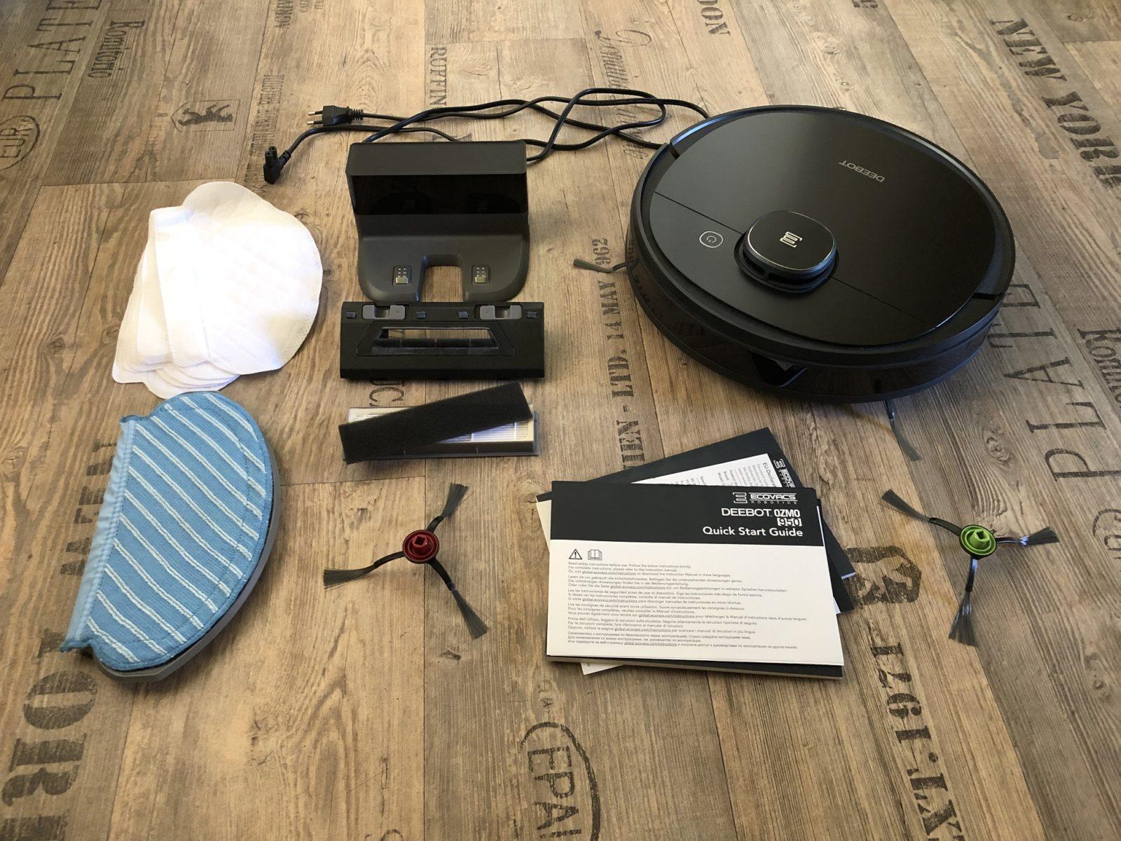 Für Ecovacs Deebot OZMO Slim 10 Seitenbürsten Filter Staubsauger Ersatzteile