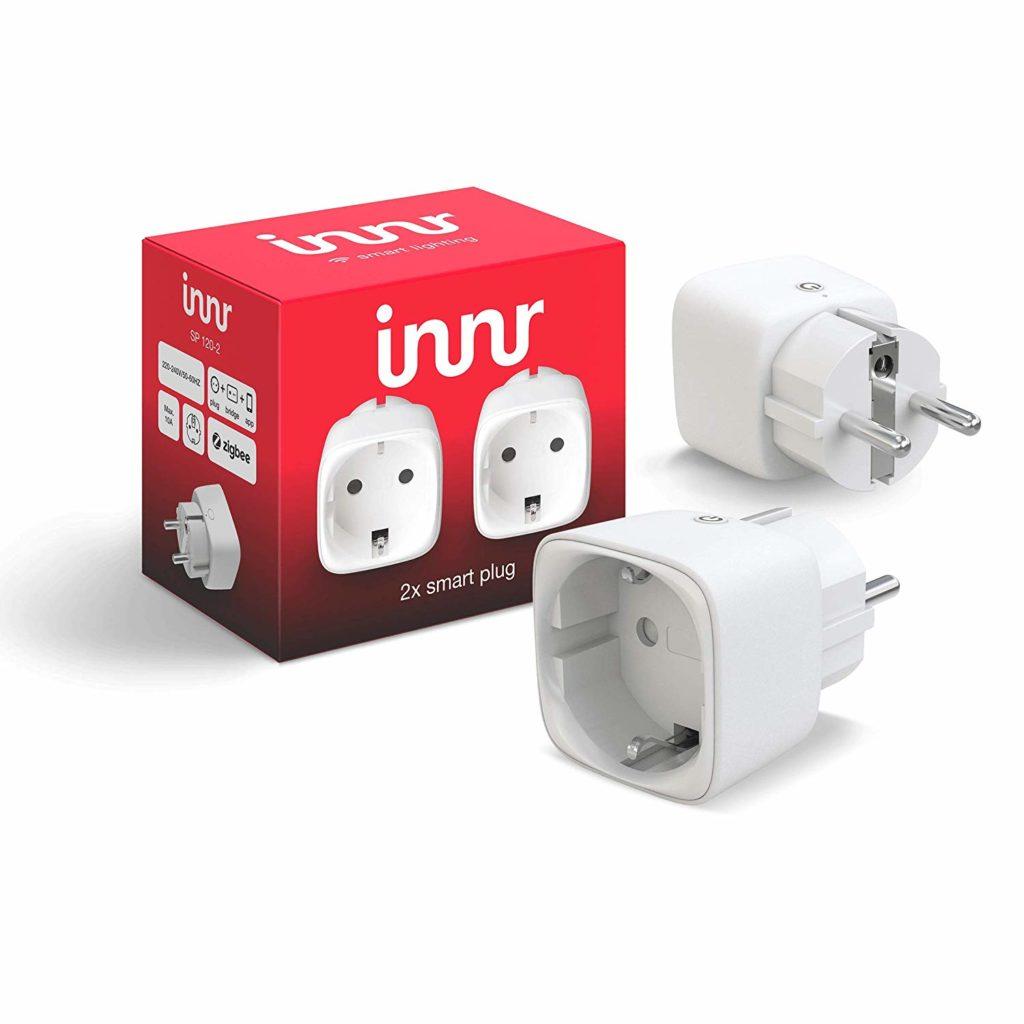 (14.08.2020) Amazon – 2 x innr Smart Plug für 32,29€