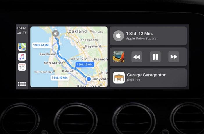 iOS 13 bringt neues Apple CarPlay Dashboard