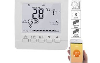 revolt WLAN-Thermostat für Fußbodenheizung