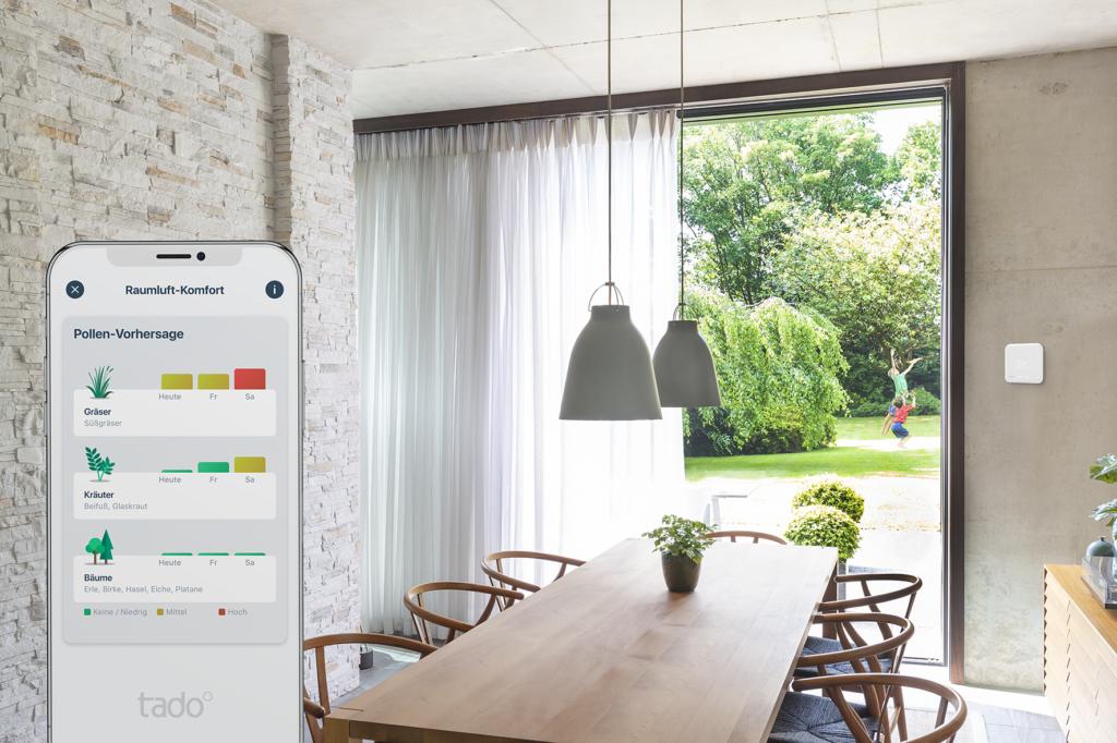 tado° – Neue App mit mehr Infos zur Luftqualität