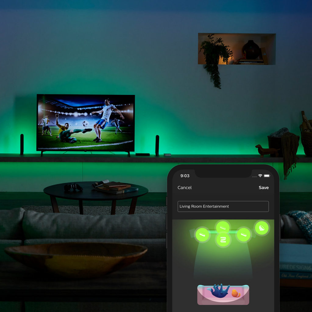 Die Philips Hue Sync Box App ist da