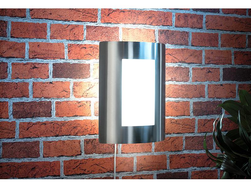 Luminea Home Control – LED Außenleuchte mit Alexa