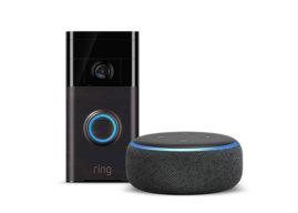 Ring Video Doorbell plus Echo Dot (3. Generation)