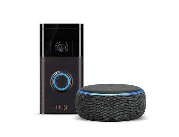 Ring Video Doorbell & Echo Dot