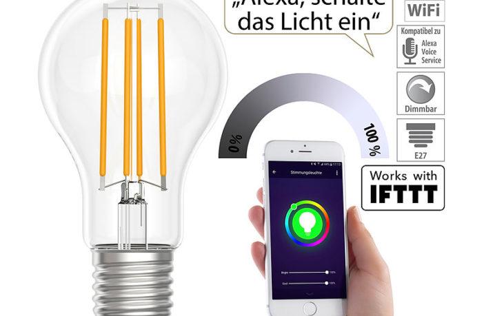 Luminea Home Control Filament Lampen