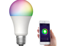 Luminea Home Control WiFi-Lampe mit Alexa verfügbar