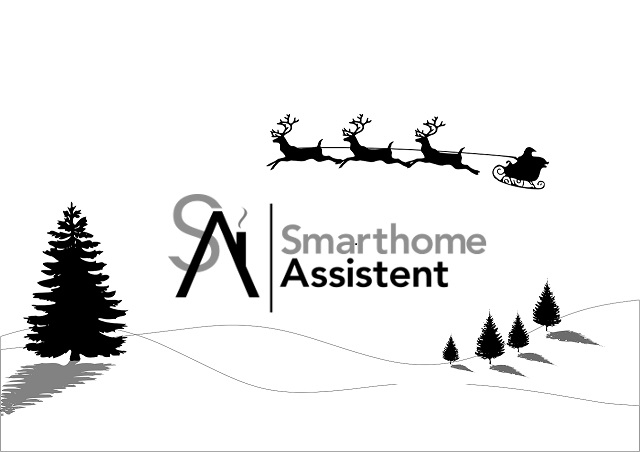 frohe weihnachten vom smarthomeassistent team. Black Bedroom Furniture Sets. Home Design Ideas
