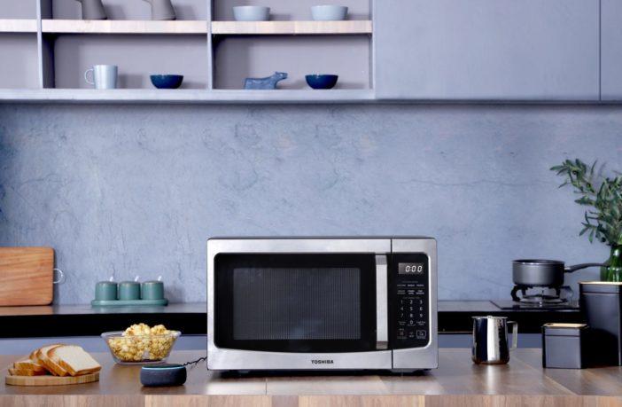 Toshiba Mikrowelle mit Alexa