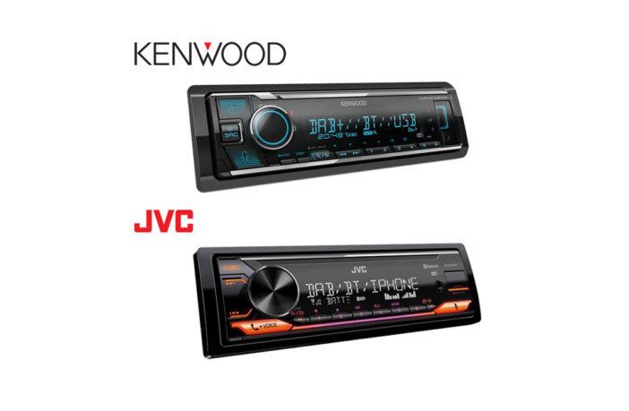 JVC und Kenwood Autoradio Alexa Built-In