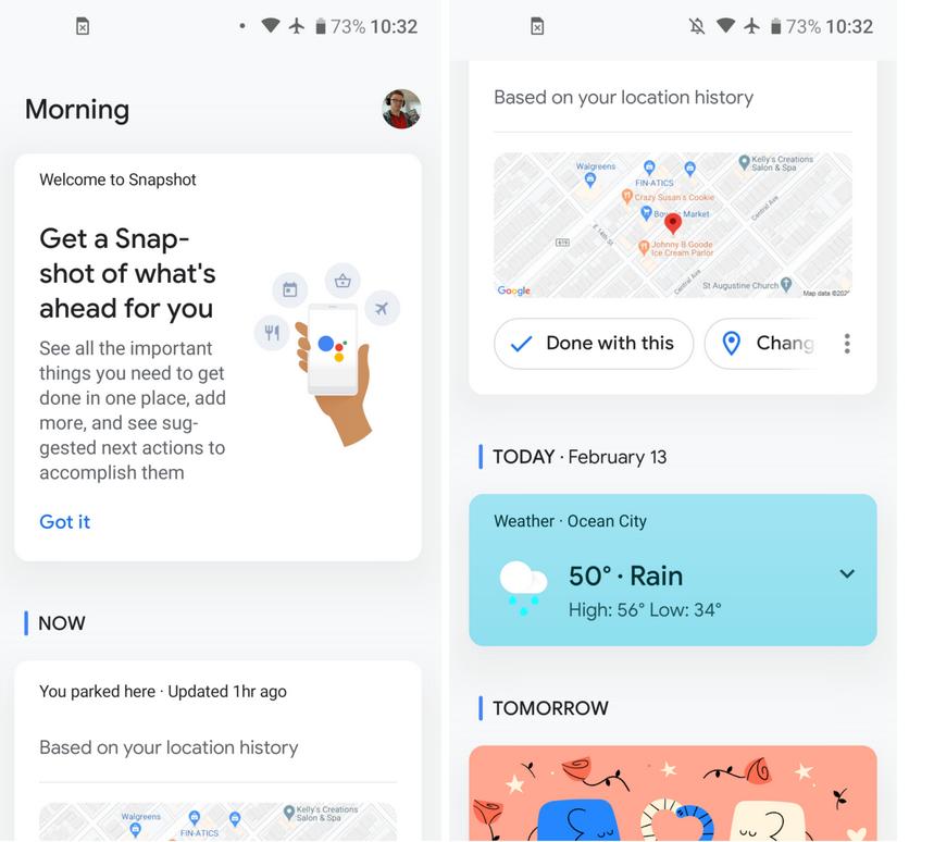 Google Assistant mit neuem Design