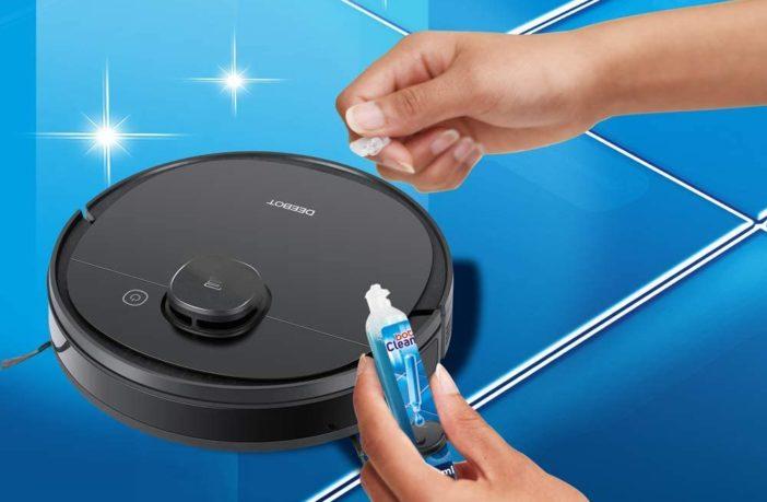 Reinigungsmittel für Wischroboter