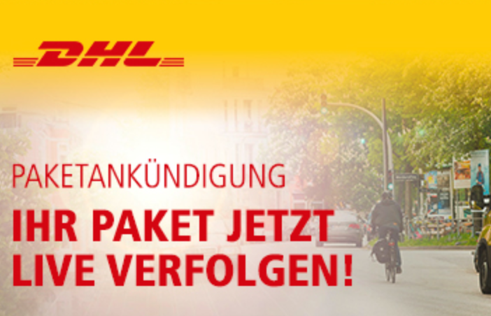 DHL Live Tracking