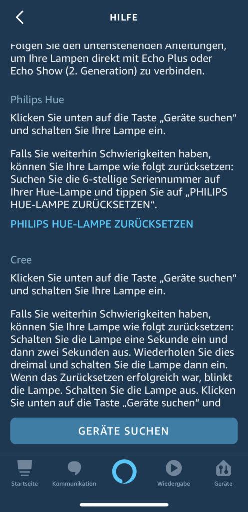 Philips Hue Reset