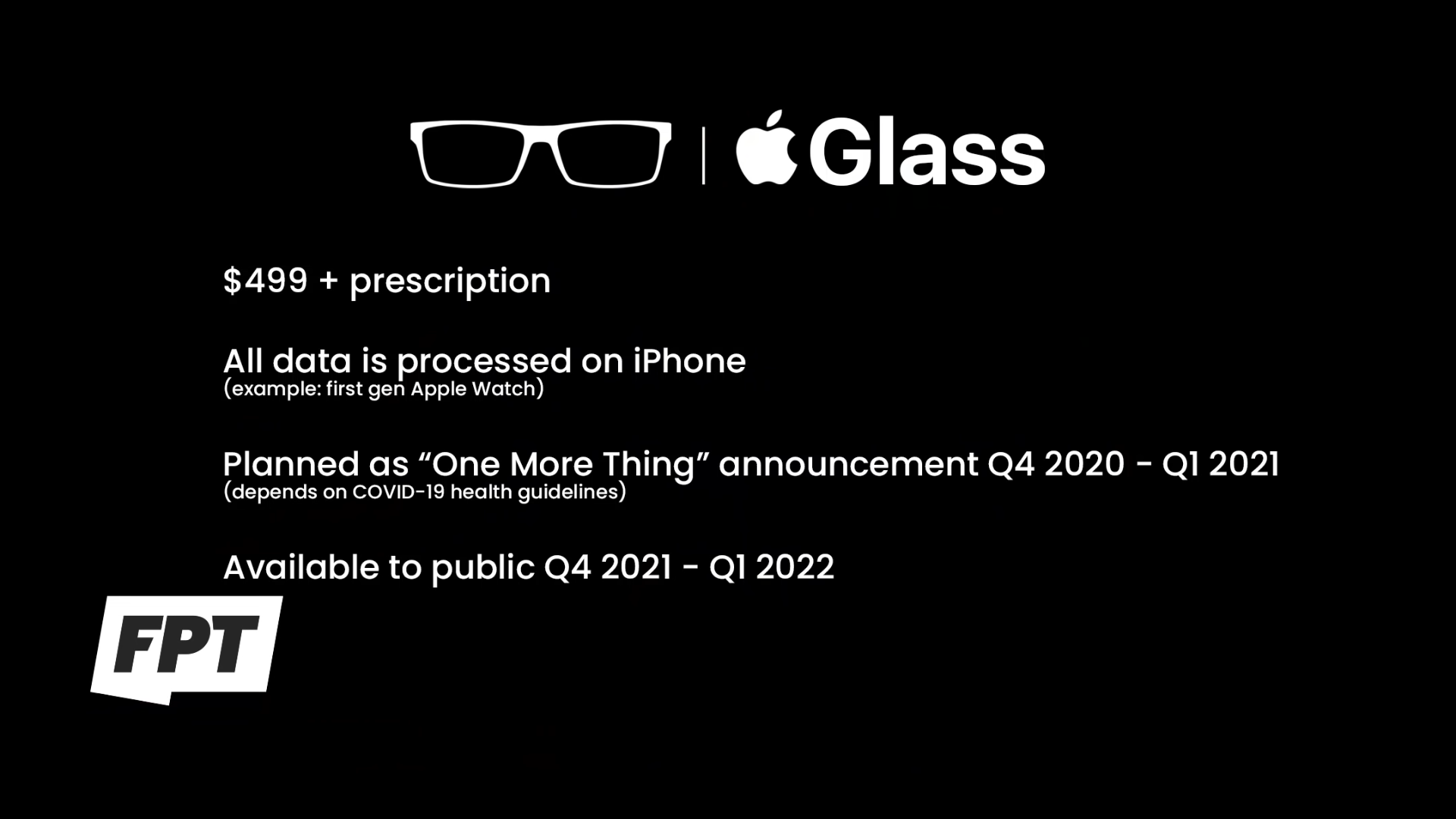 Details zu Apple Glasses