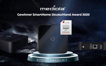 mediola Smart Home Deutschland Award 2020