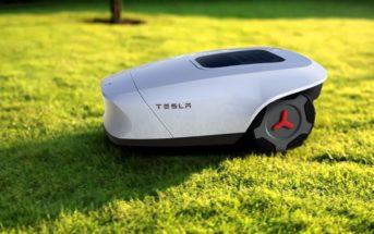 Tesla Mähroboter