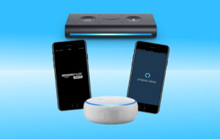 Echo Auto, Echo Dot, Alexa App, Amazon Music App