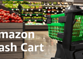 Dash Cart – Amazon stellt Einkaufswagen mit Scan-Funktion vor
