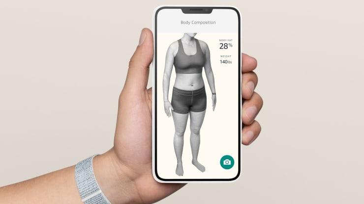 Amazon Halo Körperfett-Scanner