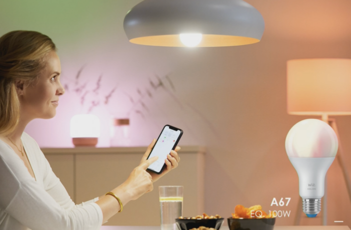 WiZ Handy App Lampe