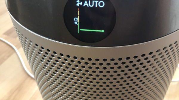 Dyson DP04 aktuelle Luftqualität insgesamt