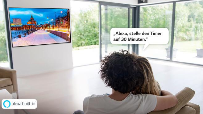 LG TV Alexa