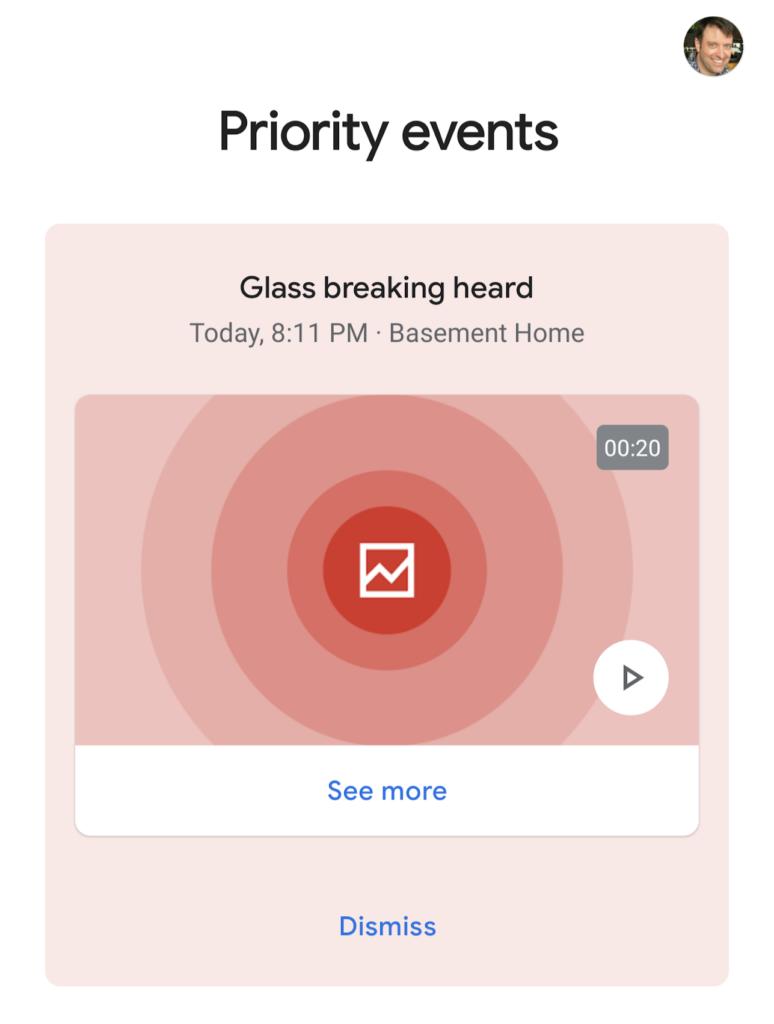 Google erkennt brechendes Glas
