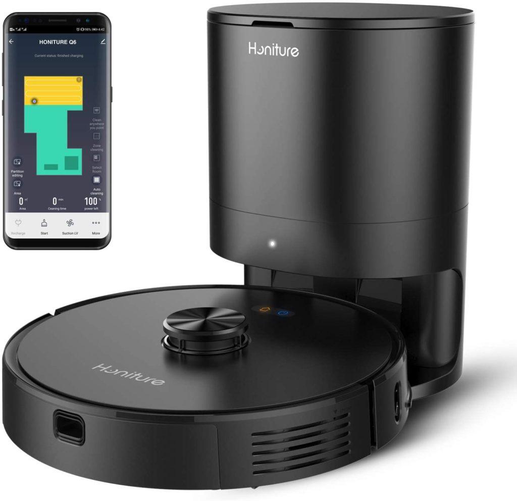 Honiture RoboVac Q6 – Saugroboter mit Absaugstation für unter 400 Euro