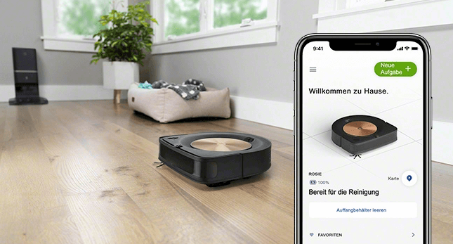 Neue iRobot App