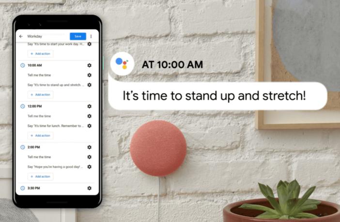 Google Assistant Routinen
