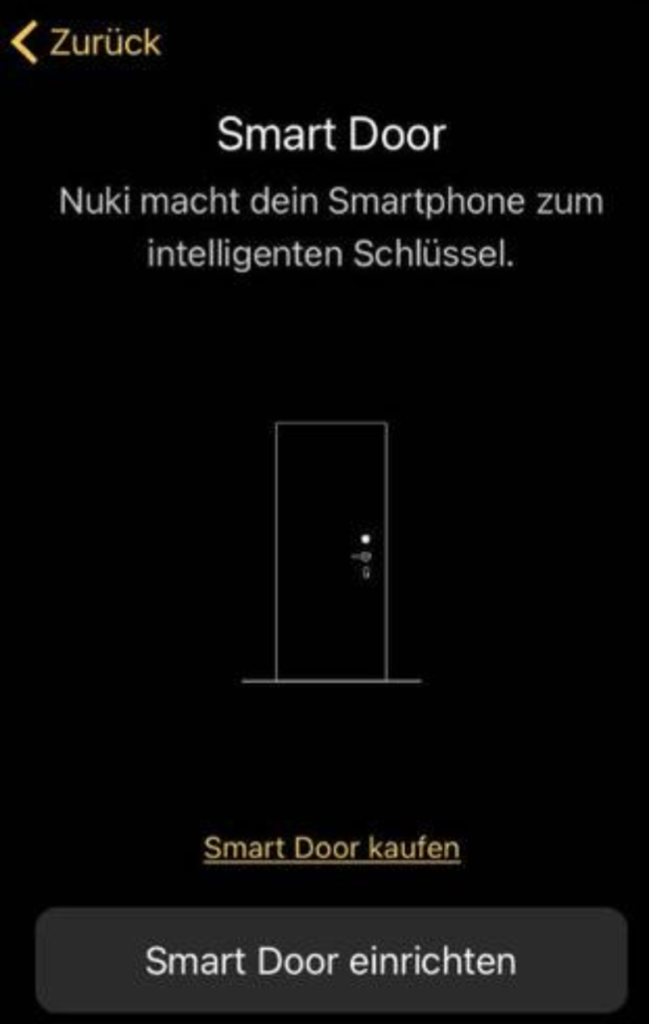 Nuki Smart Door