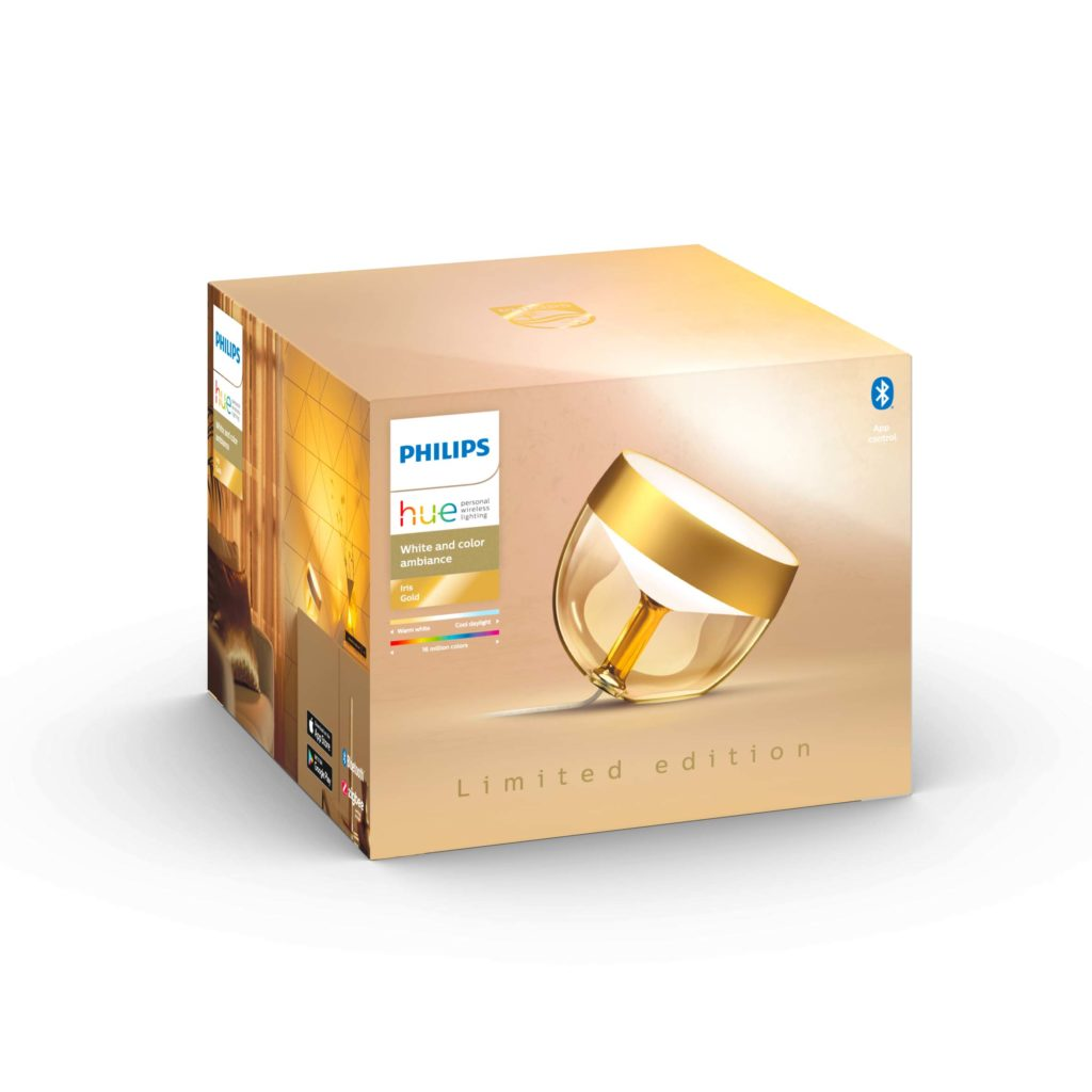 Philips Hue Iris Limited Edition Gold