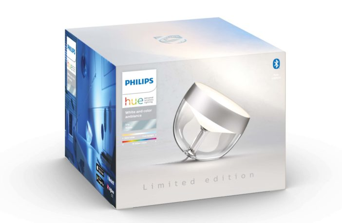 Philips Hue Iris Limited Edition Silber