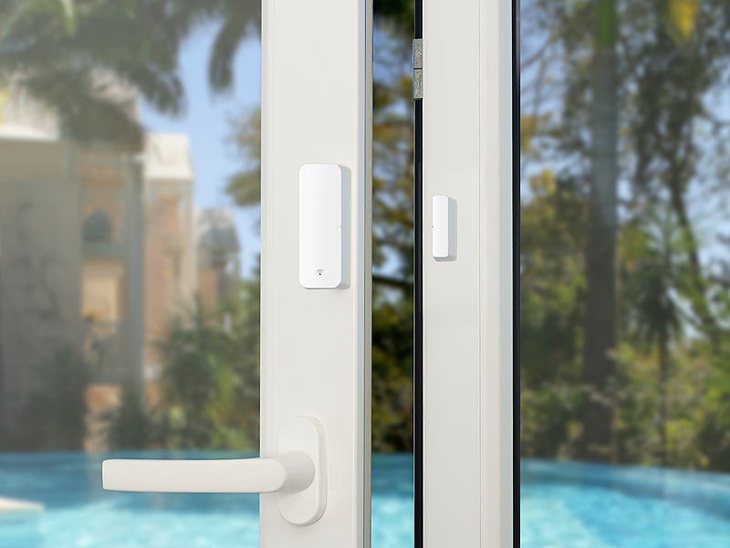 Luminea Home Control Tür- und Fenstersensor