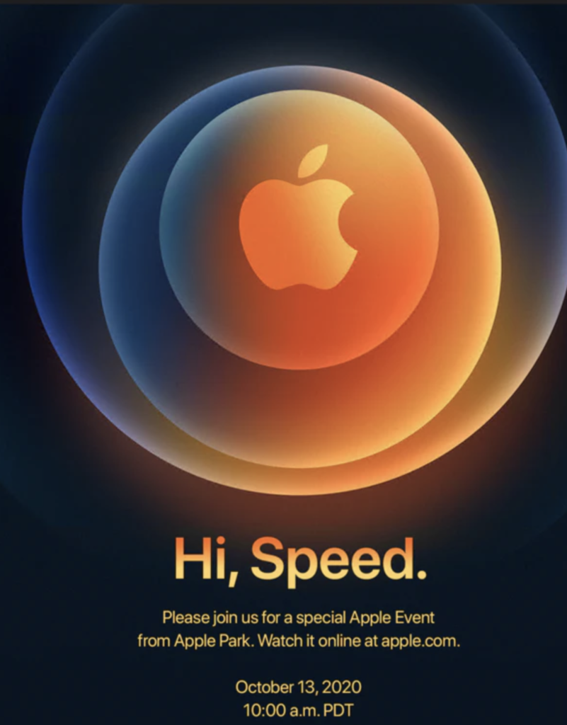 Apple Event Oktober 2020