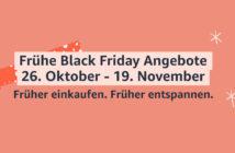 Frühe Black Friday Angebote