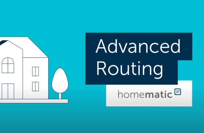 Homematic IP Advanced Routing