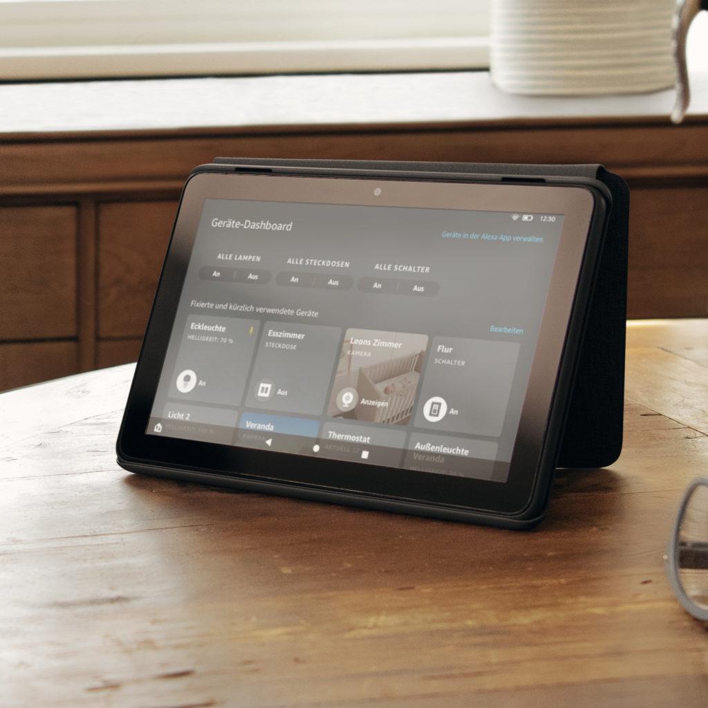 Amazon stellt neues Smarthome Dashboard für Fire-Tablets vor