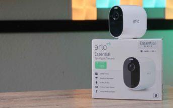 Arlo Essential Spotlight Cam